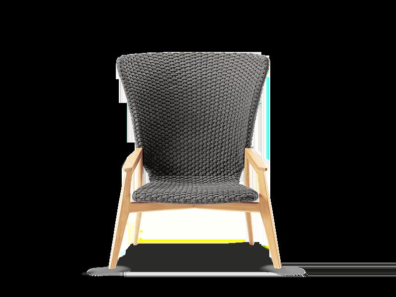 高背休闲扶手椅
