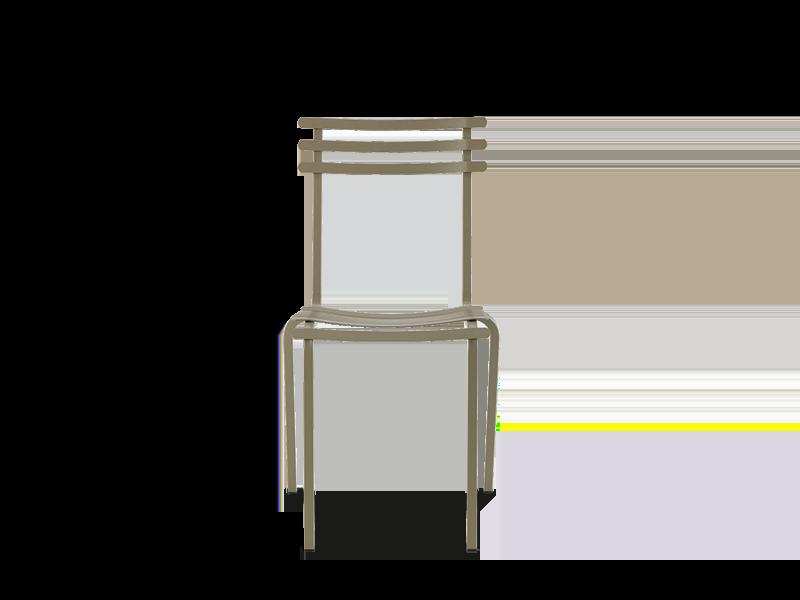 可叠放的椅子