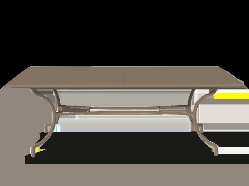 长方形桌子200-260x100cm