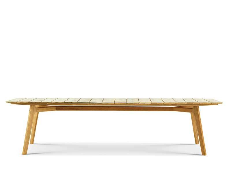 XL 长方形餐桌 263x100