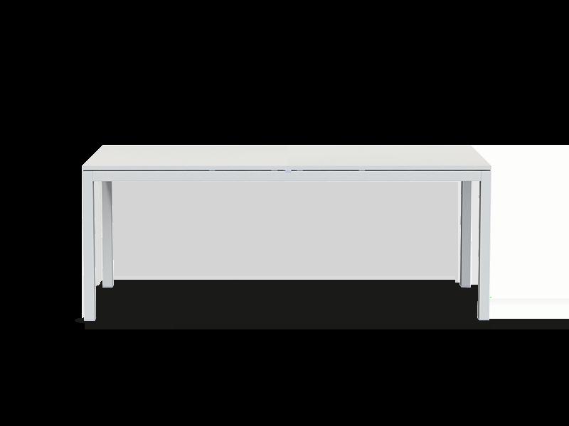 可伸缩长方形餐桌