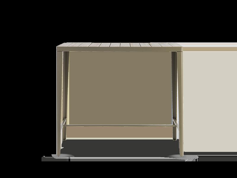 高矩形桌 120x60cm