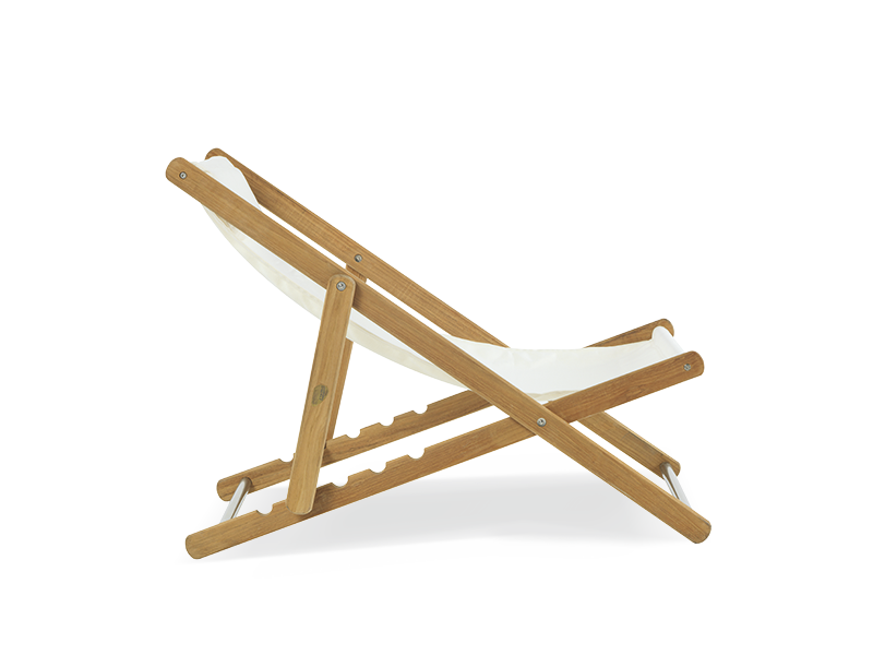 天然柚木躺椅